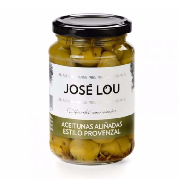 Marinated Green Provenzal Olives with Pits